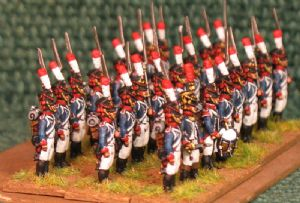 15mm, Napoleonic French Young Guard Tirailleurs 1809-1813 AB 24 Figures